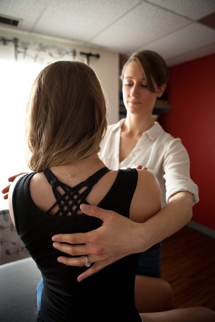 Lindsay Langlais Treating Back Pain